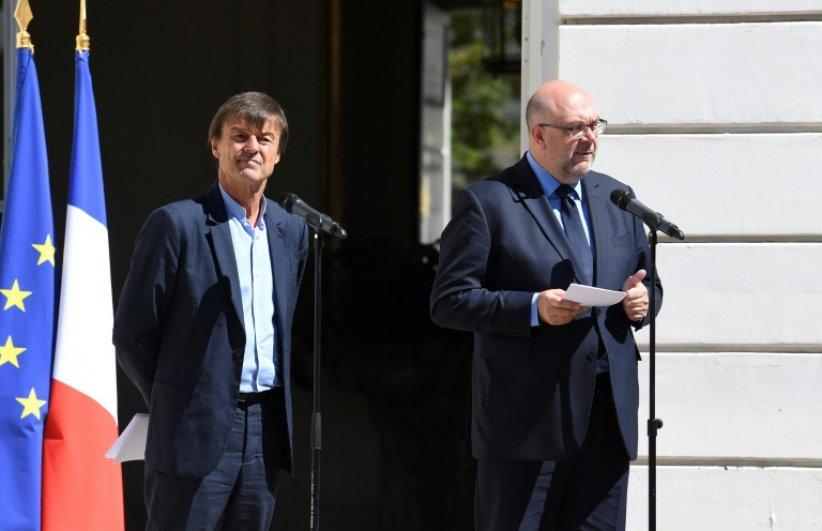 Nicolas Hulot et Stéphane Travert engagent la sortie du glyphosate