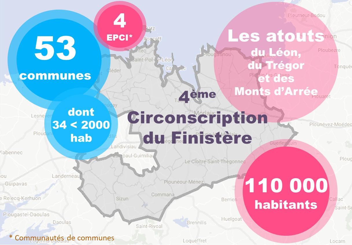 Sandrine Le Feur Députée de la 4ème circonscription du Finistère : Quelques chiffres