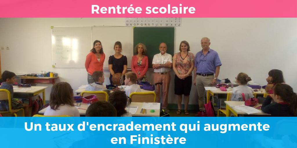 Education : Une priorité du gouvernement – Exemple de la rentrée à Plouégat-Moysan