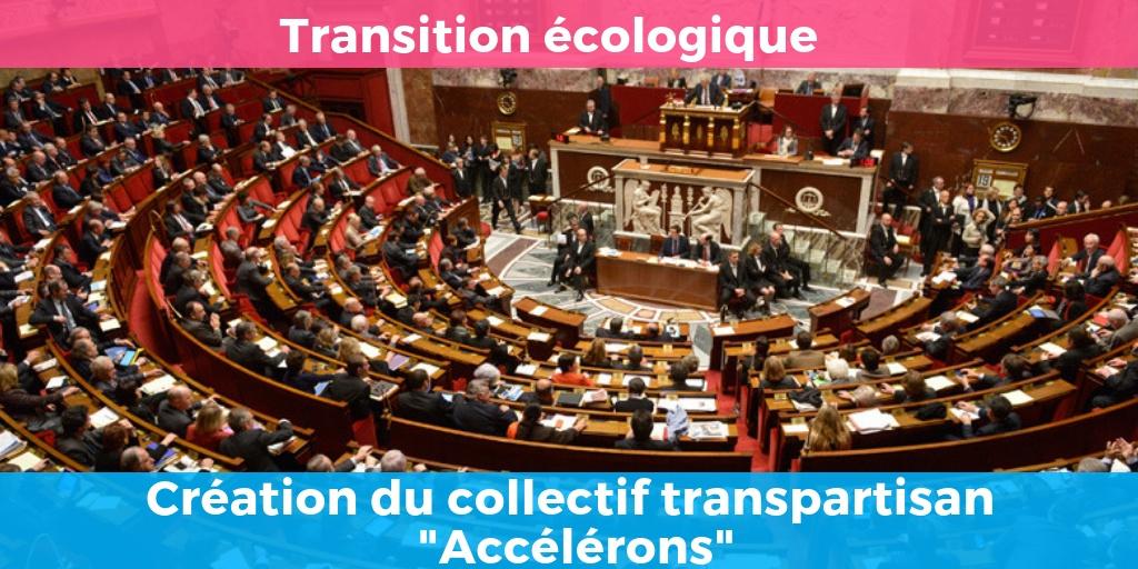 Création du collectif transpartisan « Accélérons » pour un sursaut écologique.