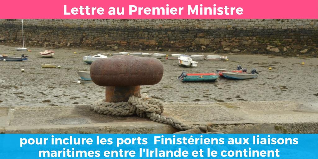 Pour l'intégration des ports de Brest et de Roscoff au réseau central des ports européens