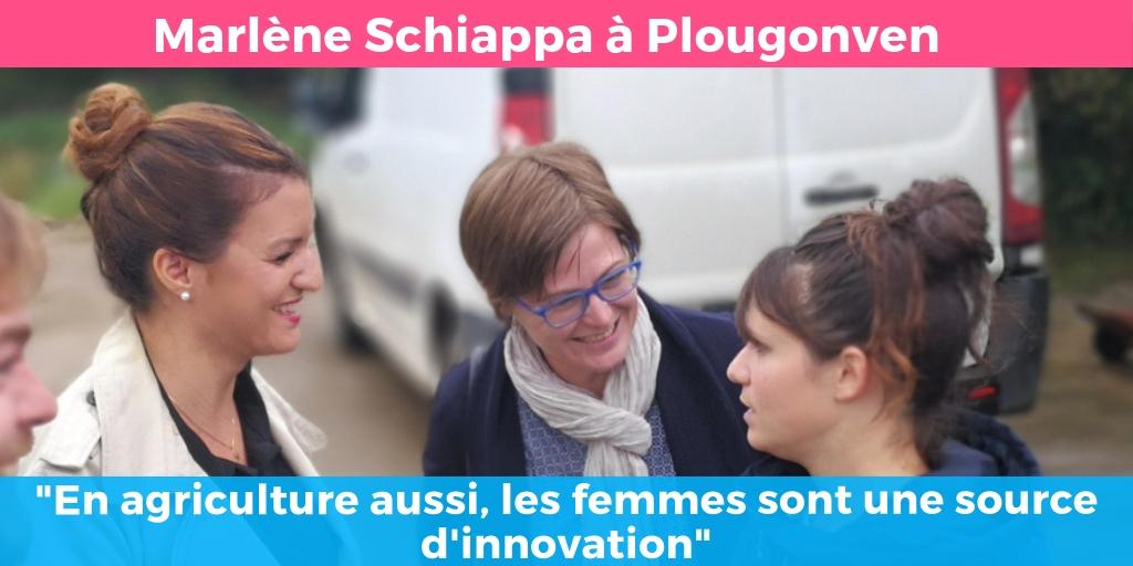 Marlène Schiappa à Plougonven : «En agriculture aussi, les femmes sont une source d'innovation»