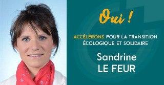 """co-fondatrice du collectif """"Accélérons"""" pour la transition écologique"""