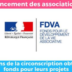remplacement de la réserve parlementaire par le FDVA : un soutien effectif à 9 associations de la circonscription