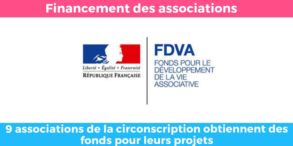 Remplacement de la réserve parlementaire par le FDVA : 9 associations de la circonscription soutenues
