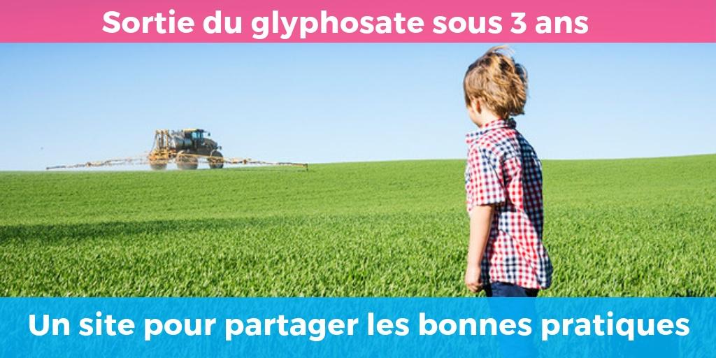 Sortir du glyphosate, c'est possible : Un site gouvernemental pour partager les expériences