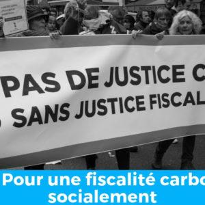 Tribune : Pour une fiscalité carbone juste socialement