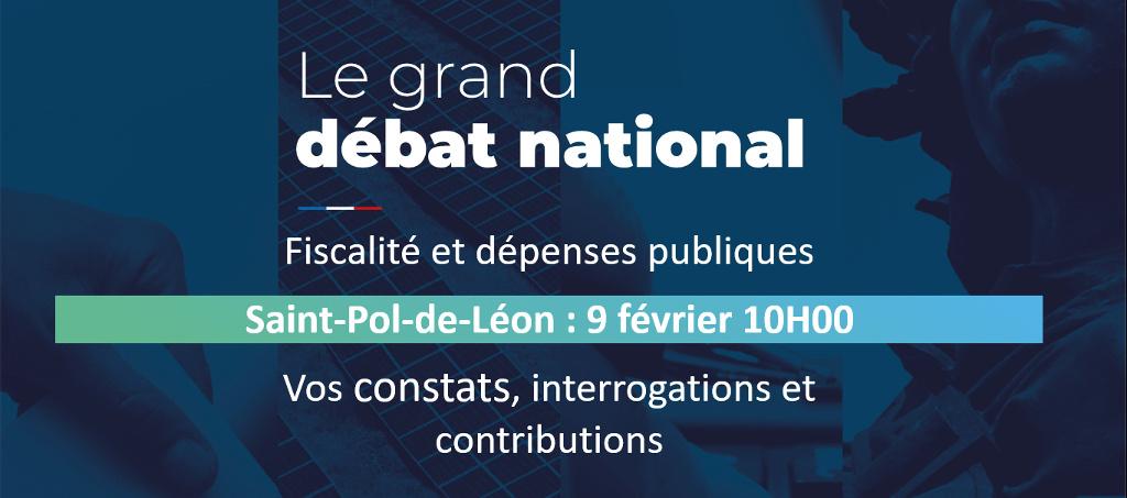 Grand Débat à Saint-Pol-de-Léon : Vos constats, interrogations et contributions