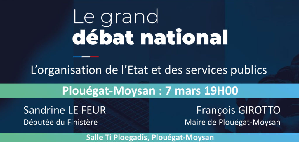 Grand Débat National à Plouégat-Moysan