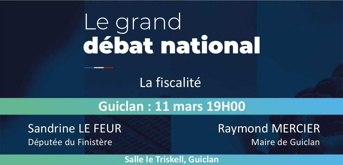 Grand Débat National à Guiclan