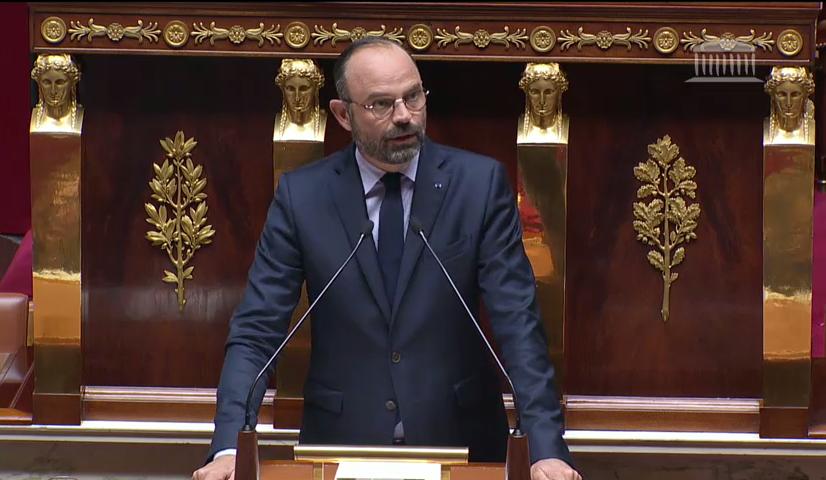 Lancement de l'Acte II du quinquennat : le Premier Ministre s'exprime devant l'Assemblée Nationale