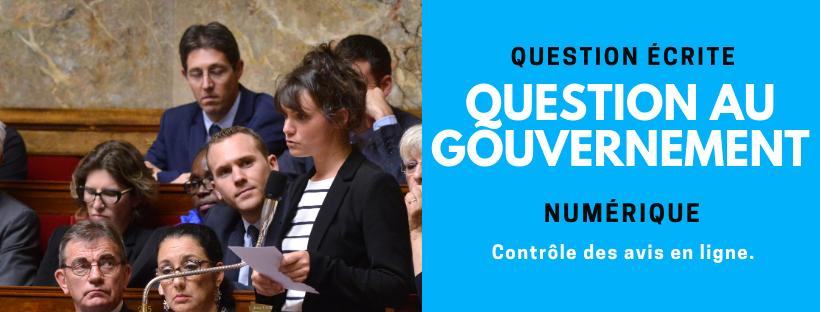 QAG Secrétariat d'état au Numérique - Controle Des Avis En Ligne
