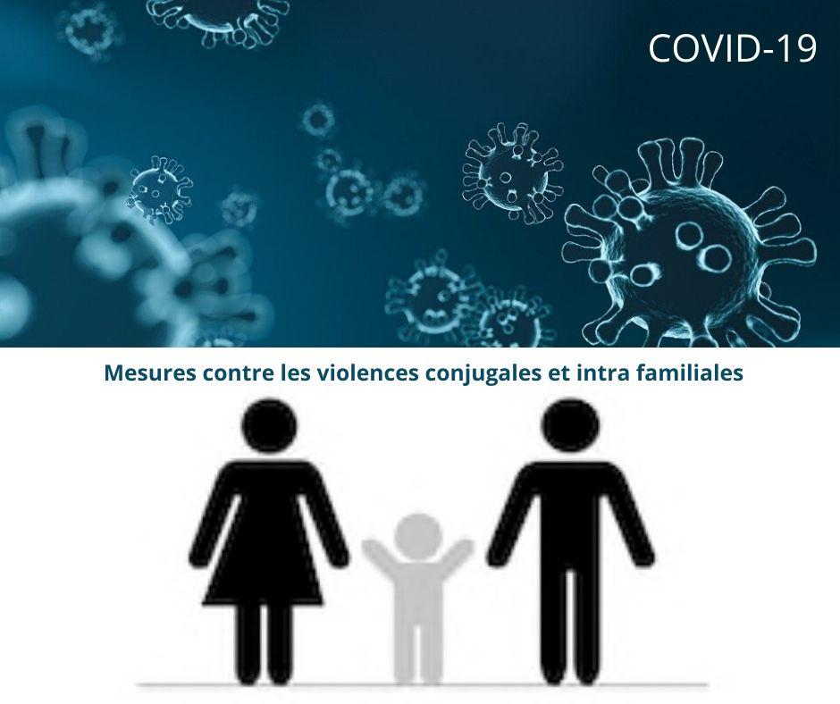 Covid-19 – Mesures contre les violences conjugales et intra familiales