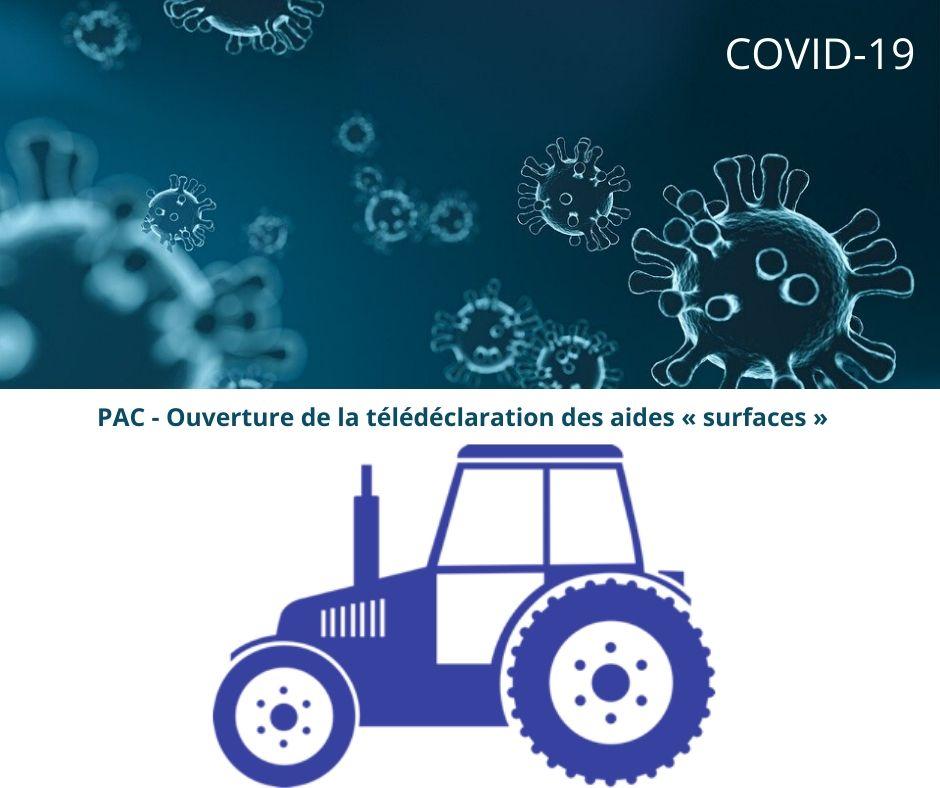 Covid-19 – PAC : ouverture de la télédéclaration des aides « surfaces » au 1er avril, report de la fin des déclarations au 15 juin