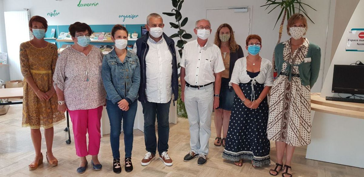 Action en circonscription – Encourager le port du masque : établissement recevant du public (1)