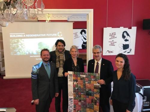 Accélérons – Petit-déjeuner Drawdown  100 solutions pour inverser le réchauffement climatique, Paris, 13 novembre 2019