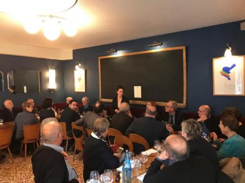 Déjeuner avec les maires de la circonscription à l'occasion du Congrès des Maires de France, Paris, 19 novembre 2019