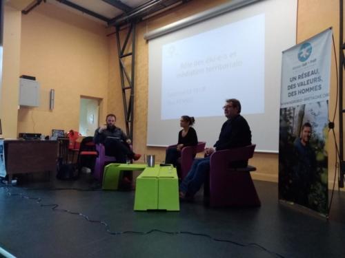Intervention au Lycée agricole de Suscinio, 3 octobre 2019