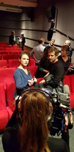 Projection du film Au nom de la terre avec Guillaume CANET, Paris, 1er octobre 2019