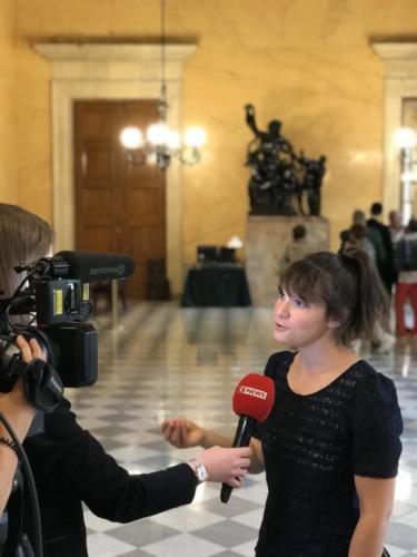 Interview avec CNews : sujet Loi EGAlim, disparition des abeilles