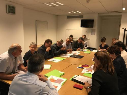 Réunion avec la SAFER et les élus de Bretagne (05/06/2018)