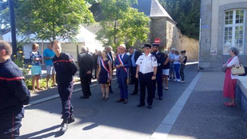 Célébration de la fête nationale à Saint-Pol-de-Léon