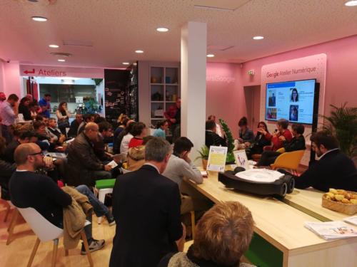 À Rennes, Atelier numérique Google : Le numérique pour une agriculture innovante (05/10/2018)