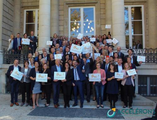 """Lancement du collectif """"Accélérons"""" pour plus de transition écologique (16/10/2018)"""
